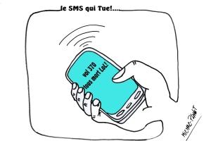 le SMS qui Tue!....