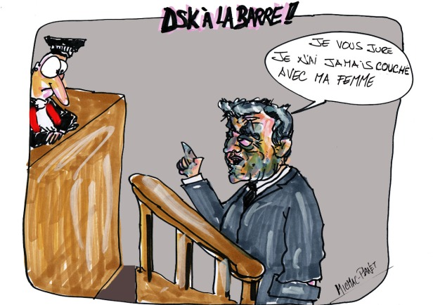 DSK à la barre