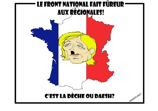 le front national fait füreur aux régionales_