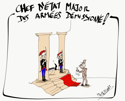 Chef d'etat major demissionne